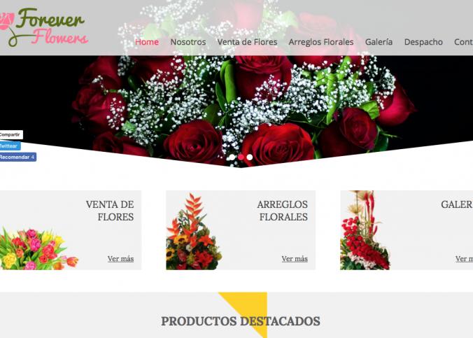 Venta de flores a domicilio en Santiago